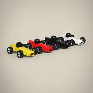 Racing Toy Car Set model