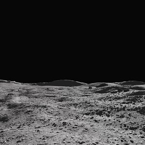 moon environment surface 3D