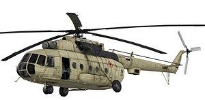 eygpt helicopter 3D model