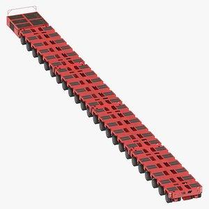 3D 24 axle lines modular