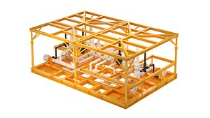 3D model subsea manifold