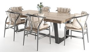 dining set table chair model