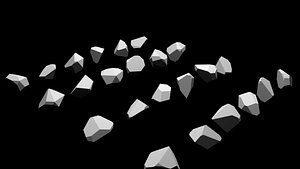 gem stone crystal 3D model