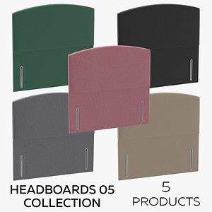 Headboards 05 Collection 3D