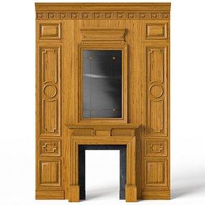 Fireplace 01 05 3D model