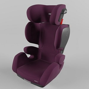 3D Recaro Mako 2 Children Car Seat Core Very Berry model