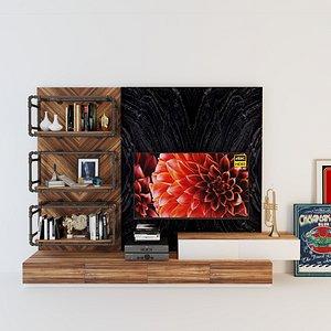 3D tv s cabinet