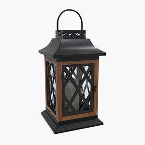 decor light lantern 3D
