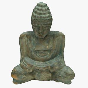 3D statue sculpture model