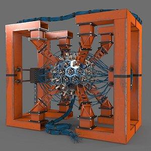 3D reactor