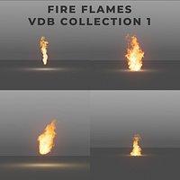 Fire Flames PACK 1 - VDB