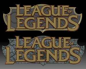 League of Legends Logo for 3D printer or CNC router 3D model