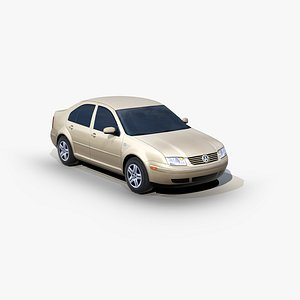 3D Volkswagen Jetta 2002 model