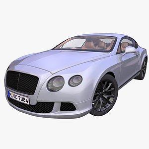 3D Generic Luxury Coupe