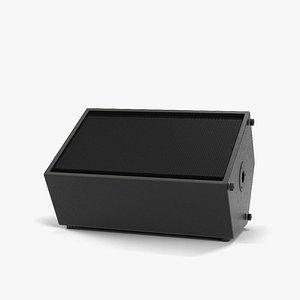 3D ground speaker model
