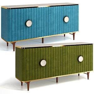 3D Juneau Bar Cabinet