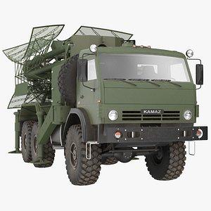 Kasta 2E2 Antenna Truck 3D model