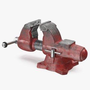 multipurpose pipe bench vise 3D model