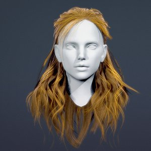 - real time female 3D
