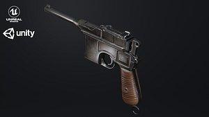 MauserC96 3D model