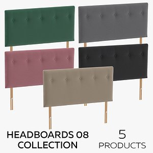3D model Headboards 08 Collection