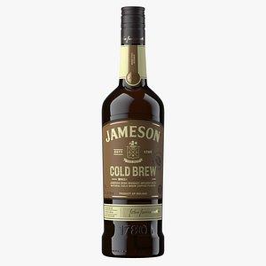 Jameson Cold Brew Whiskey Bottle model