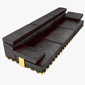 Montparnasse Sofa 3D