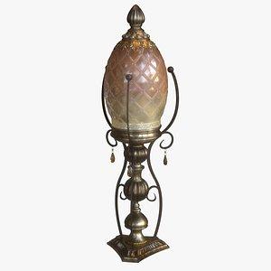 3D model Antique Lamp