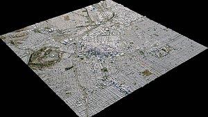 3D Los Angeles - USA