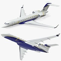 Bombardier Global 6000 Scale Model