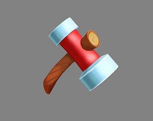 3D hammer tool