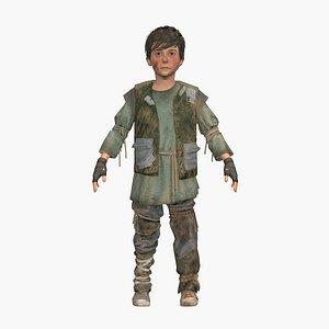3D patrick boy