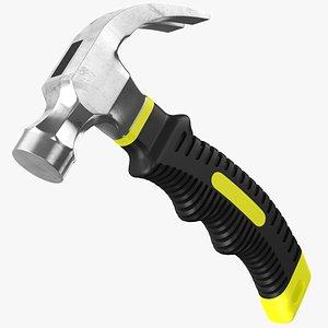 3D Stubby Claw Hammer model