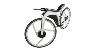 3D model bike electric