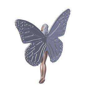 butterfly girl kelebek model