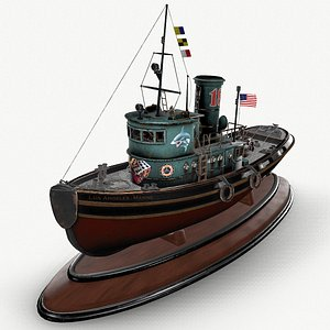 tug sea model