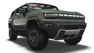 Hummer EV GMC SUV Edition 1    2024 3D