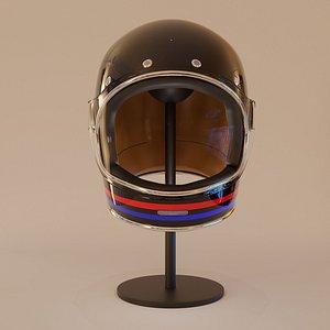 bell bullitt dlx glossy 3D model