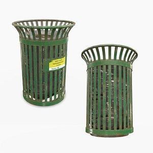 waste bin 3D model
