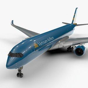 a350-900 vietnam airlines l1115 3D model