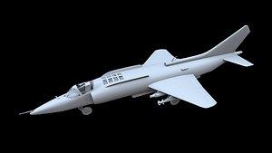 yakovlev yak-38 fighter 3D