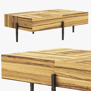 Joybird Declan Coffee Table 3D model