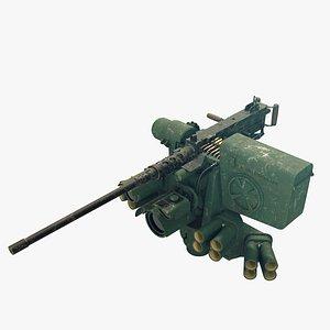 3D M151 Protector RWS model