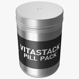 Vitastack Pill Pack 3D model