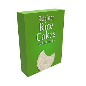 3D Rice Cake Chives model