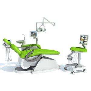 3D model Dental Station