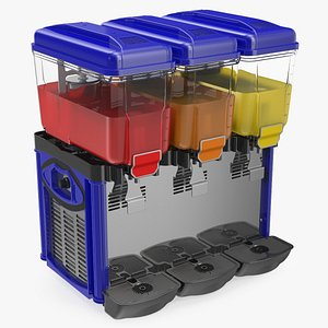 drink dispenser machine 3 3D model