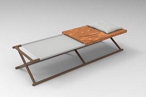 3D Paraggi Bench