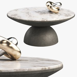 3D Joybird Amina Coffee Table model