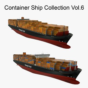 Container Ship Collection Vol.6 3D model